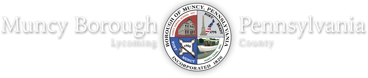 Muncy Borough, Lycoming County Pennsylvania