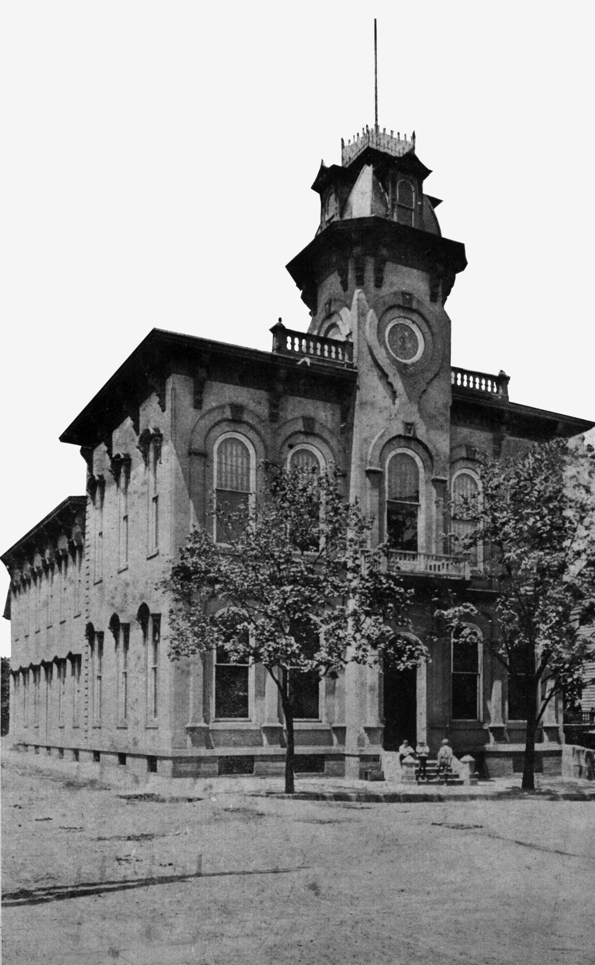penn hall 1928